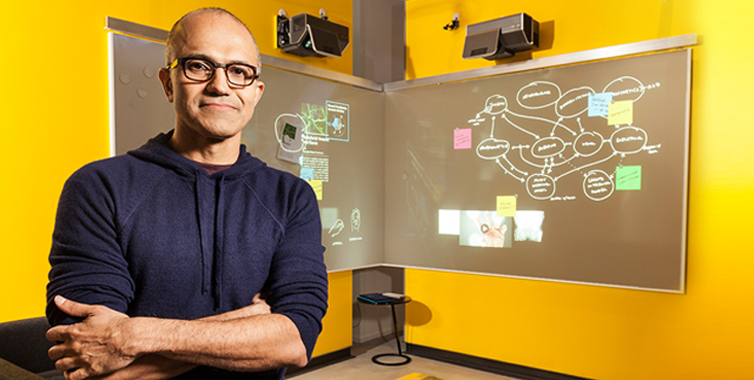First Interview Of Satya Nadella – Microsoft's Brand New CEO