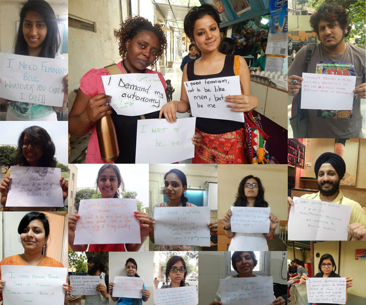 I Need Feminism – Young Research Scholar Spearheads International Movement In Delhi