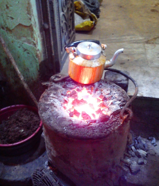 Coal cooked Chai