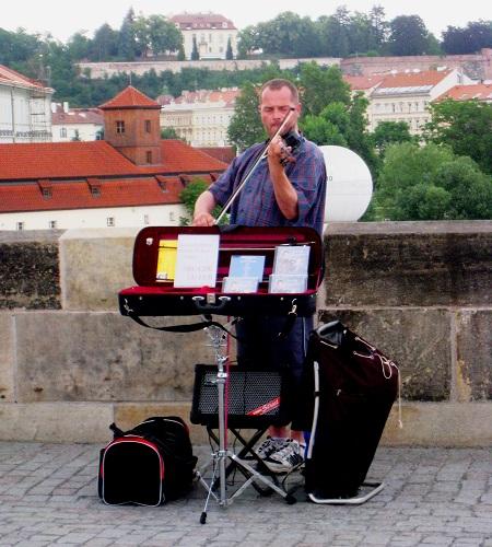 Melodies by Charles Bridge