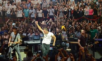 At The Royal Albert Hall, London, July 2, 2014