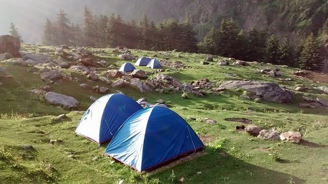 Kheerganga-camps