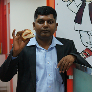Venkatesh founder goli vada pav