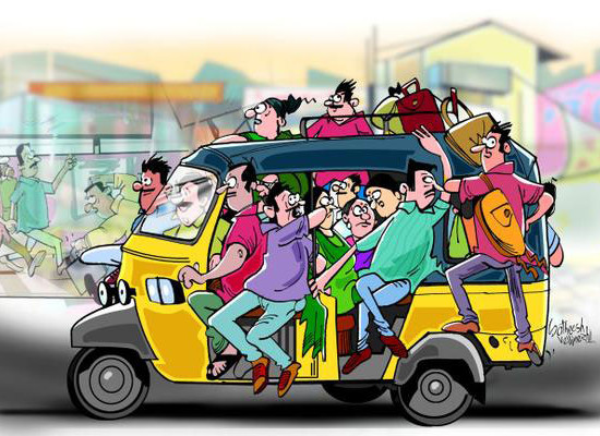 The Joy Of Traveling By The Public Transport…!