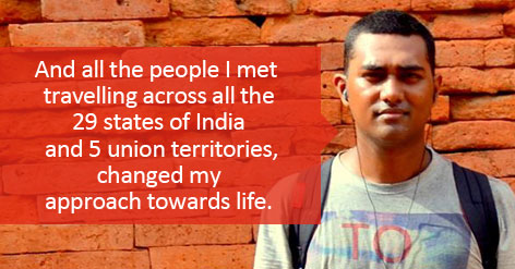 Hamid Shah – The Guy Who Discovered Himself After A Backpack Solo Trip Across India