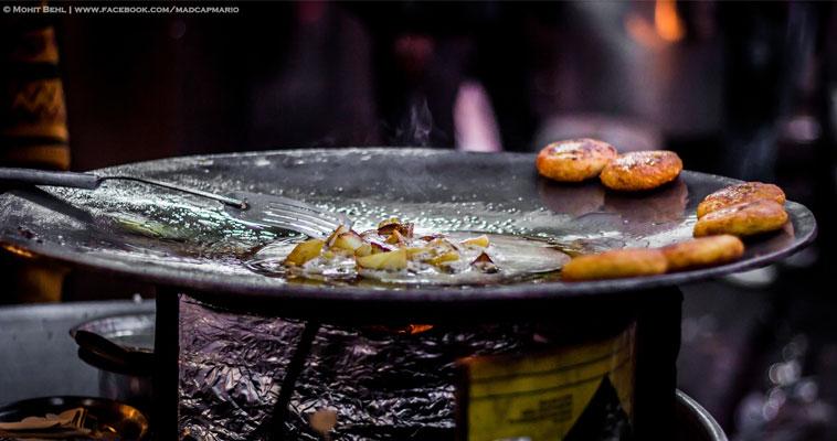 snacks aalu chaat tikki