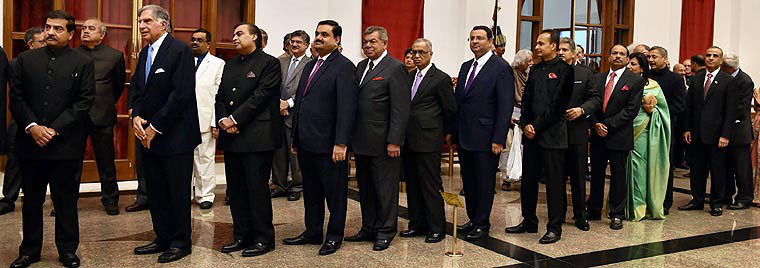 The high profile Indian queue to meet Barack Obama