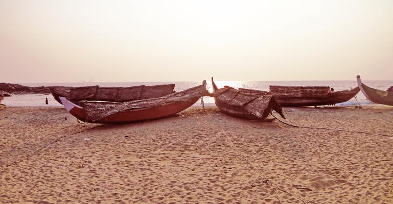 Boats, Kovalam