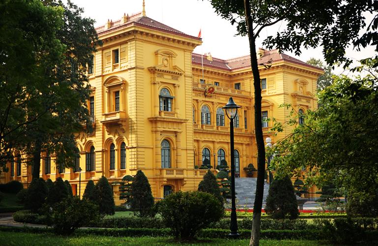 Hanoi - The Presidential Palace of Vietnam