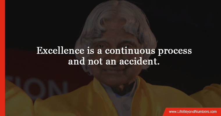 Inspiring quote by Dr. Abdul Kalam