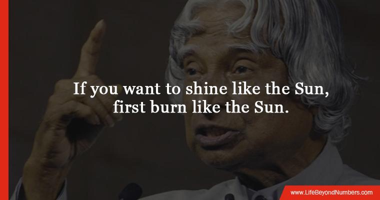Dr. kalam inspiring quotes