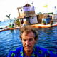 A Floating Island Made With Over 100,000 Recycled Plastic Water Bottles