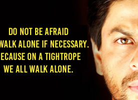Shah Rukh Khan – A Motivational Speech On Why Fear Of Failure Is A Great Thing To Have In Life