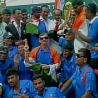 India Defeats Pakistan To Win The First T-20 Asia Cup For Blind
