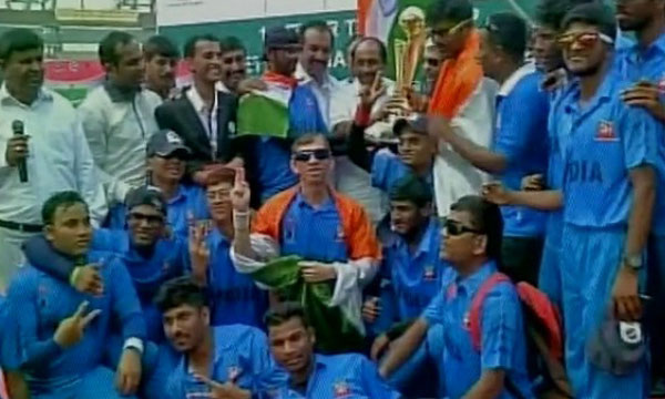 India wins first t20 asia cup for blind