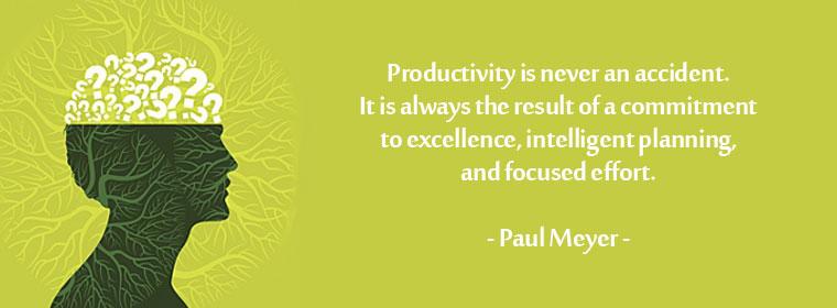 productive mind