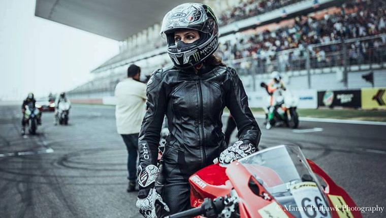 neharika yadav biker