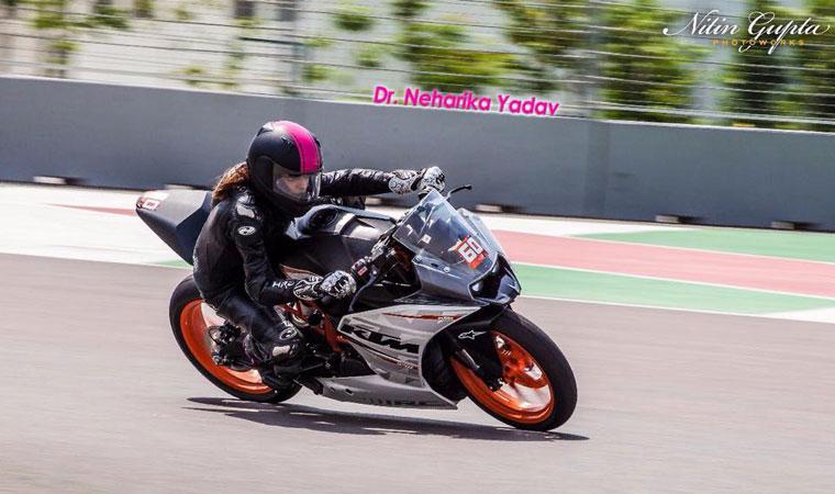 Biker Neharika Yadav