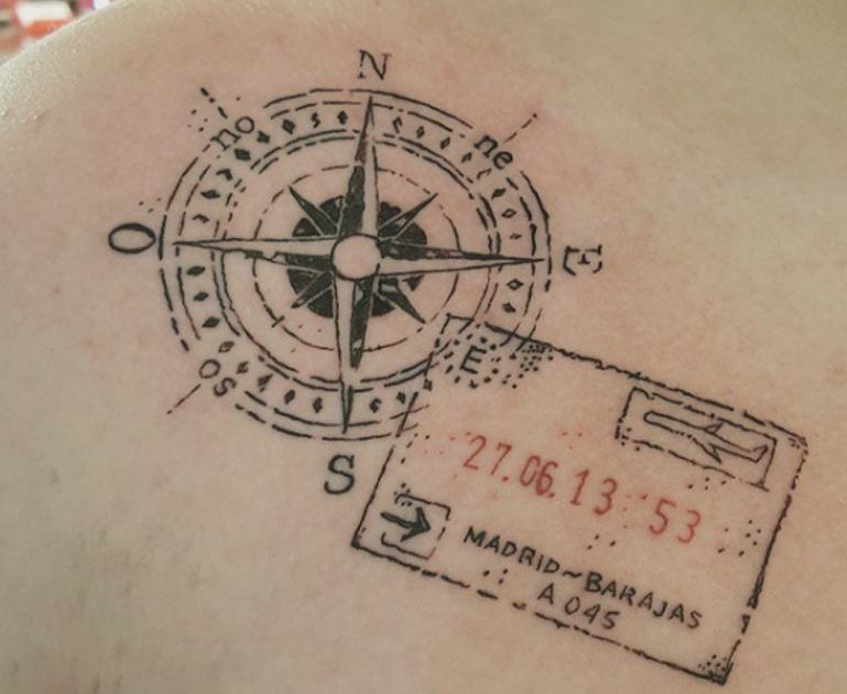 stamp tattoos