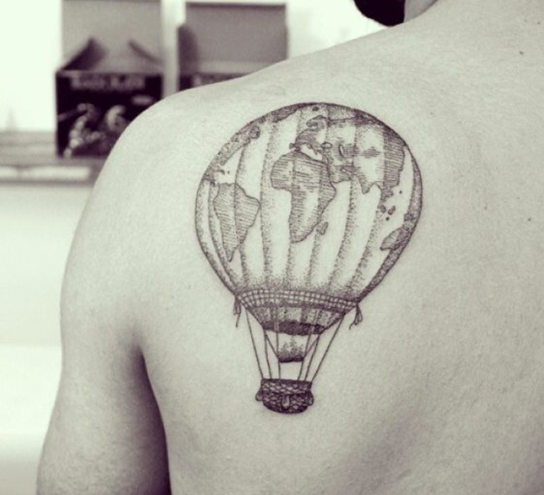 13 beautiful travel inspired tattoos that will give you instant source voltagebd Image collections