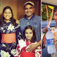 Can You Transform Water Bottles Into Smiles? This Gurgaon Family Is Doing It For The Last 3 Years.