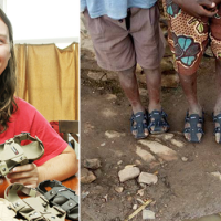 This Magical Shoe Is Changing The Lives Of Poor Children Globally. And It's So Simple And Awesome!