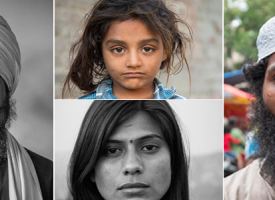 A Photographer Is Asking These Stern Looking Strangers To Smile. And What Happens Next Is So Human.