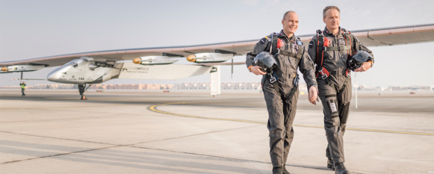 Solar Impulse 2 – A Flight Around The World Without A Single Drop Of Fuel