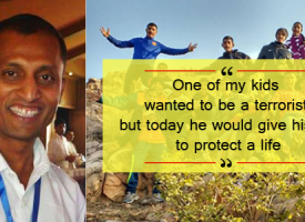 Sylvester Peter – The Inspiring Man Who Is Changing The Lives Of Delhi's Slum Kids With A Football