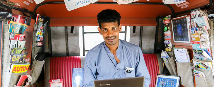 The Auto Driver With 10,000+ Facebook Fans, 2 TED Talks, A Website, And A Mobile App