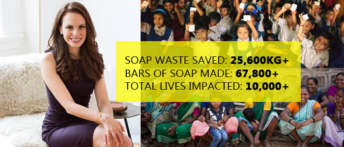 Erin Zaikis - Recycling The Used Soaps From Hotels To Solve A Basic Hygiene Issue