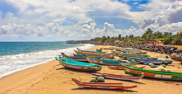 pondicherry - safe place for female solo travelers in India
