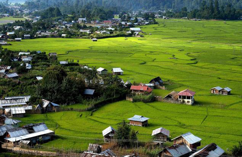 ziro valley for female solo travel in india