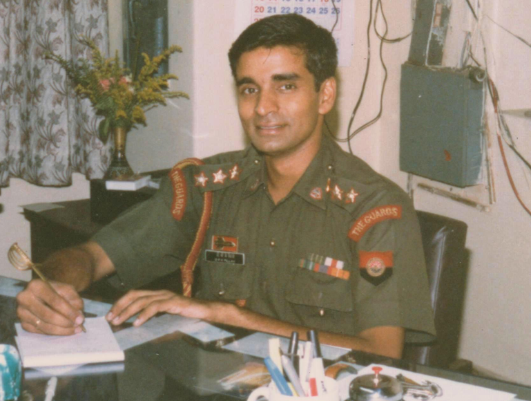 colonel pillay, the inspiring story of an indian army soldier