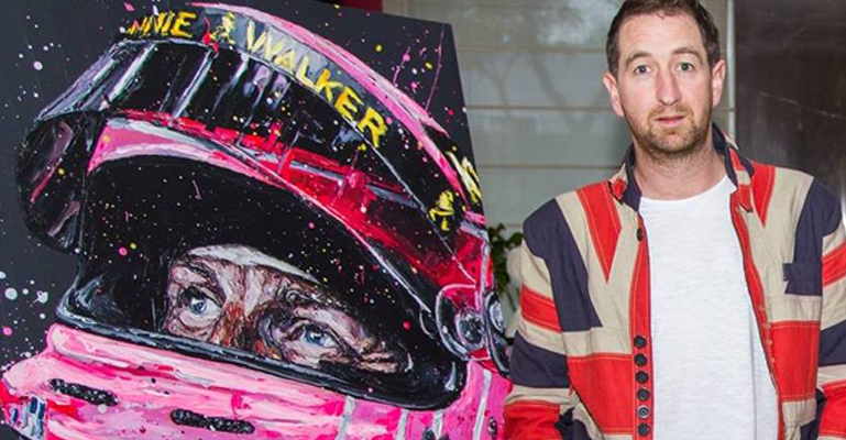 Paul Oz – The Artist Whose Brush Strokes Are As Thrilling As The F1 Races