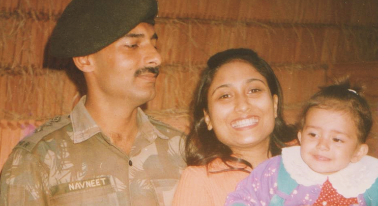 At 23, Shivani Became An Army Officer's Wife And At 27, She Was A Martyr's Widow. Inayat Was Just 3.