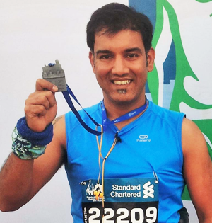 marathon to get fit to climb mount everest