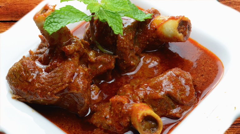 Mutton Korma - a must eat food in Delhi