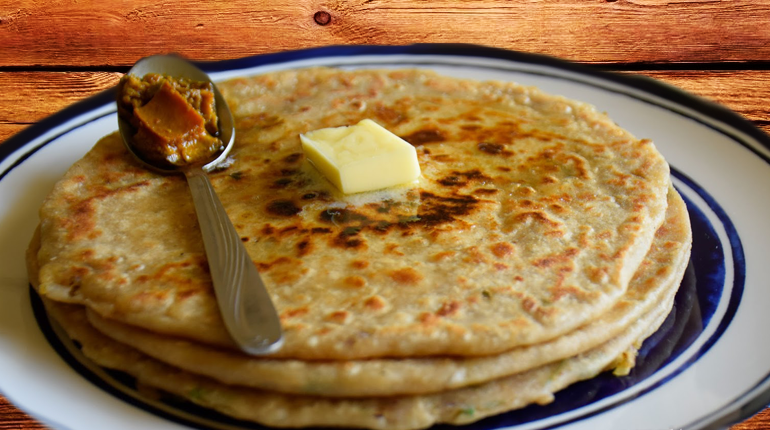 Parathas - a must eat food in Delhi