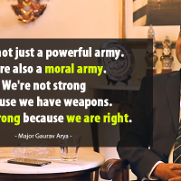 Watch Major Gaurav Arya Speak On What Every Indian Soldier Expects From His Countrymen And Why