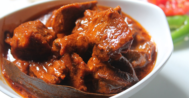 rogan josh must eat food
