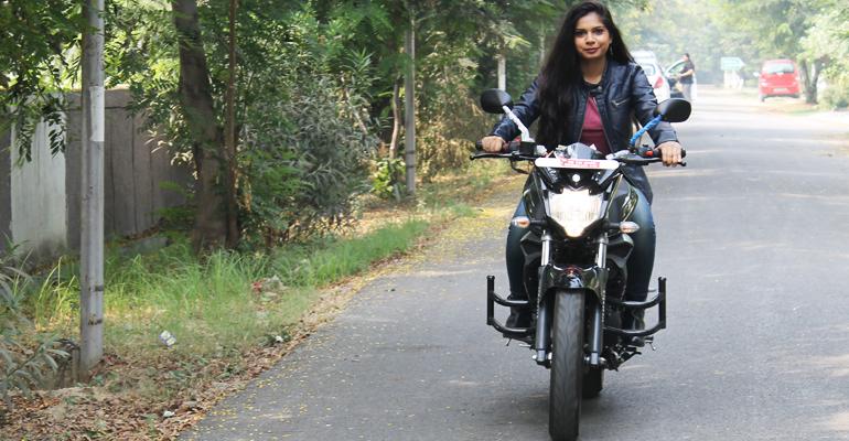 women dream ride bike
