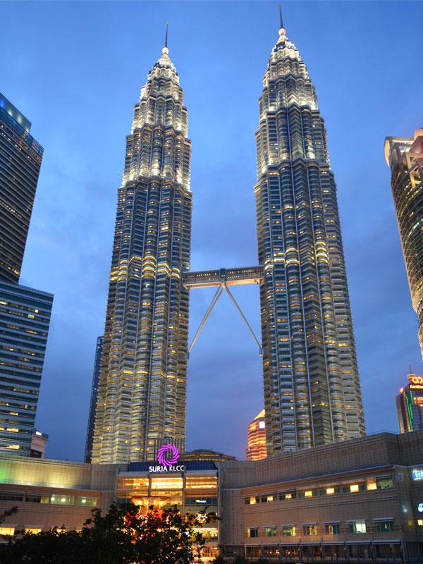 Kuala Lumpur surya klcc tower