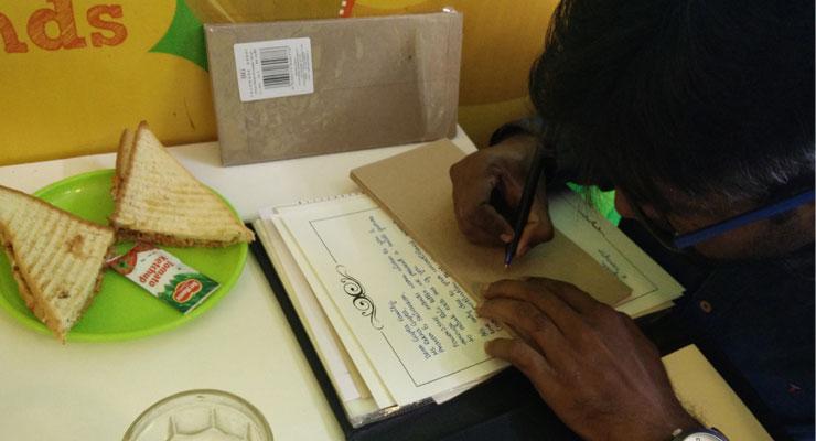 Indian Handwritten Letter Co