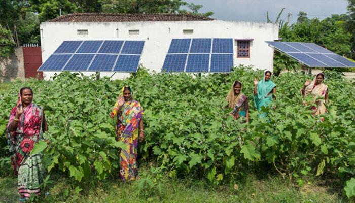 Dharnai solar village Bihar
