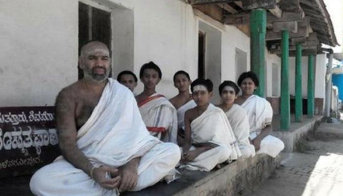 Mattur sanskrit speaking village india