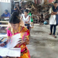 On Her Wedding Day, She Chose Education Over Marriage And Gave Exams In Bridal Attire