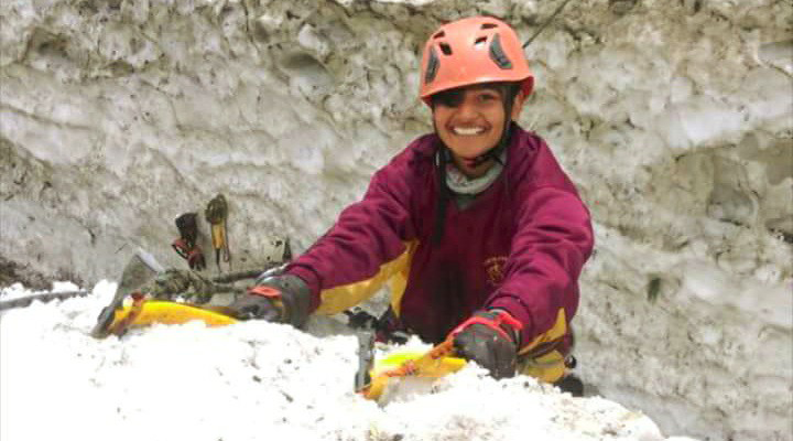 shivangi pathak youngest Indian woman to scale Mt Everest