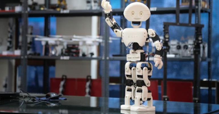 manav robot India