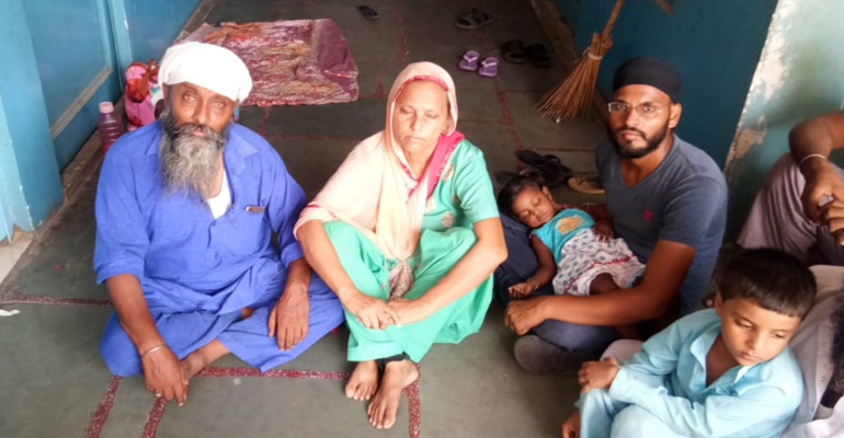 Afghan Sikh refugee